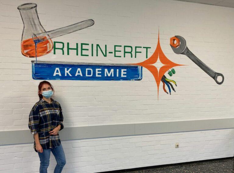 Jetzt wird's bunt in der Rhein-Erft Akademie