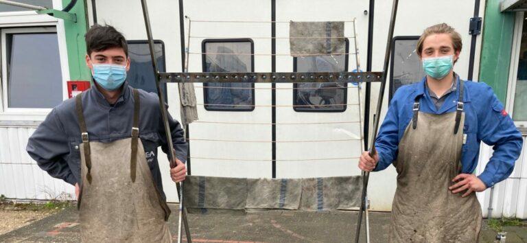 Wäscheständer in der Rhein-Erft Akademie? – so geht Nachhaltigkeit in der Werkstatt